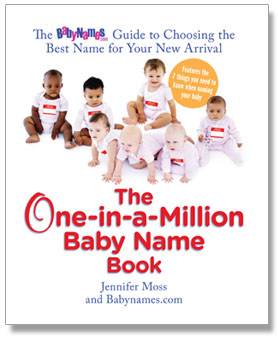Cover of The One-in-a-Million Baby Name Book