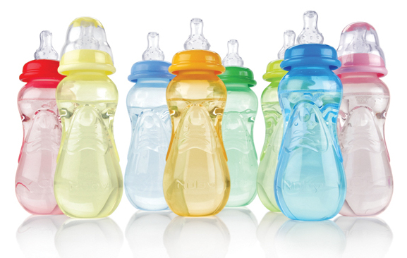 Baby Bottle Baba Race - Baby Shower Games