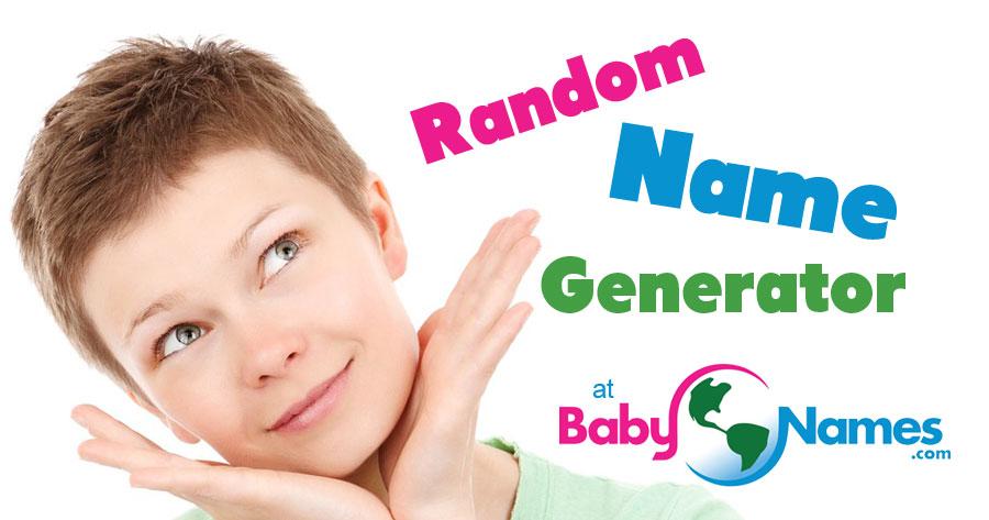 Random Name Generator Babynames Com