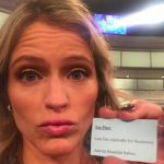 The View co-host Sara Haines announced that she's pregnant during the show. Find out if she's having a girl or a boy! - BabyNames Celebrity Baby Blog