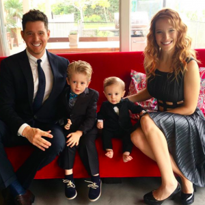 Michael Buble and wife Luisana Lopilato are expecting their third child. Get the latest. - BabyNames.com Celebrity Baby Blog