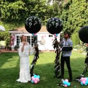 Kate Hudson and boyfriend Danny Fujikawa are expecting a baby! Watch their adorable gender reveal video. - BabyNames.com Celebrity Baby Blog