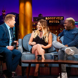 Hilary Duff shares son Luca's unique baby name for her little girl. See what she told James Corden. - BabyNames.com Celebrity Baby Blog