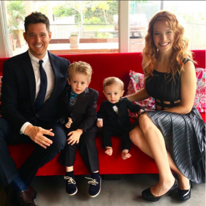 Michael Buble and Luisana Lopilato welcomed their third child, a baby girl. Find out what the couple said about their new addition. - BabyNames.com Celebrity Baby Blog