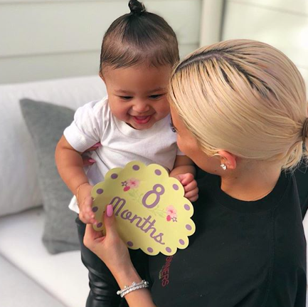 Kylie Jenner explains how she decided on her daughter's name, Stormi. Find out her last minute change! - BabyNames.com Celebrity Baby Blog