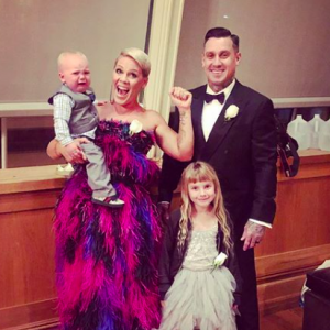 Pink fired back at a hater on Instagram who criticized her husband's parenting skills. She didn't hold back. - BabyNames.com Celebrity Baby Blog