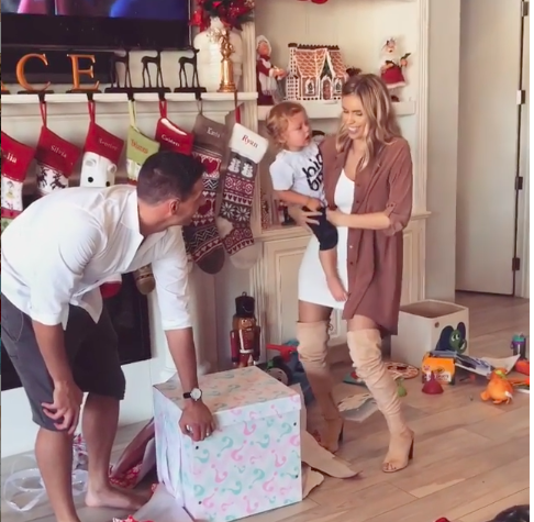Ryan Lochte and wife Kayla Rae Reid reveal their babys gender Find out if its a boy or a girl BabyNamescom Celebrity Baby Blog