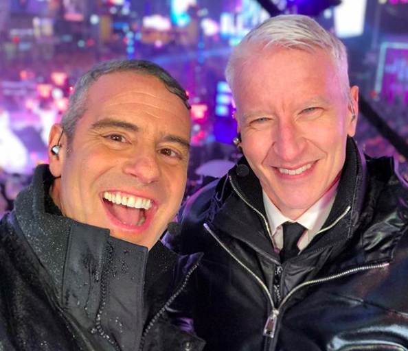 Andy Cohen revealed the gender of his baby during the New Year's Eve show with Anderson Cooper. Get the details! - BabyNames.com Celebrity Baby Blog