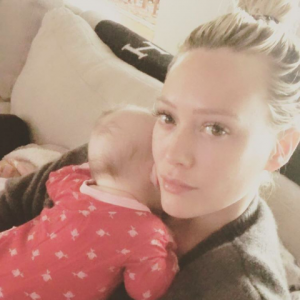 Hilary Duff shared a funny Rachel McAdams style breast pump pic on Instagram. See her hilarious spin on the image. - BabyNames.com Celebrity Baby Blog