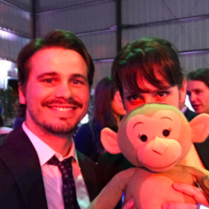 Jason Ritter and Melanie Lynsey recently welcomed a baby girl. Get the details! - BabyNames.com Celebrity Baby Blog