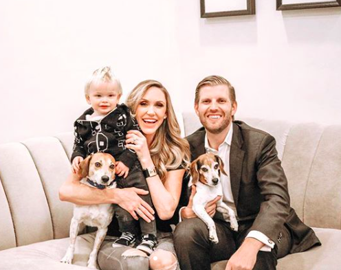 Eric and Lara Trump are expecting their second child Get all the details BabyNamescom Celebrity Baby Blog