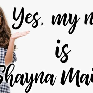 """Yes my name is """"Shayna Maidel"""""""
