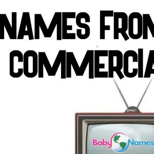 Names from TV Commercials