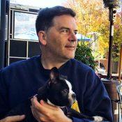 Wm Bullion with dog Steve