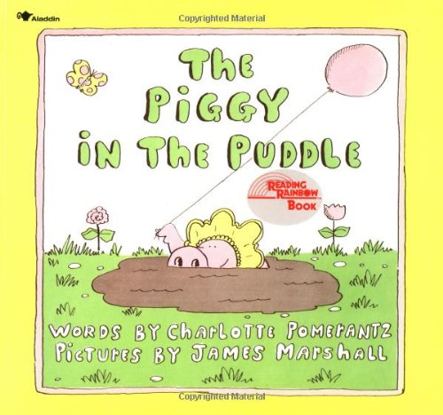 A Piggy in the Puddle book cover
