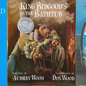 3 books by Audrey & Don Wood