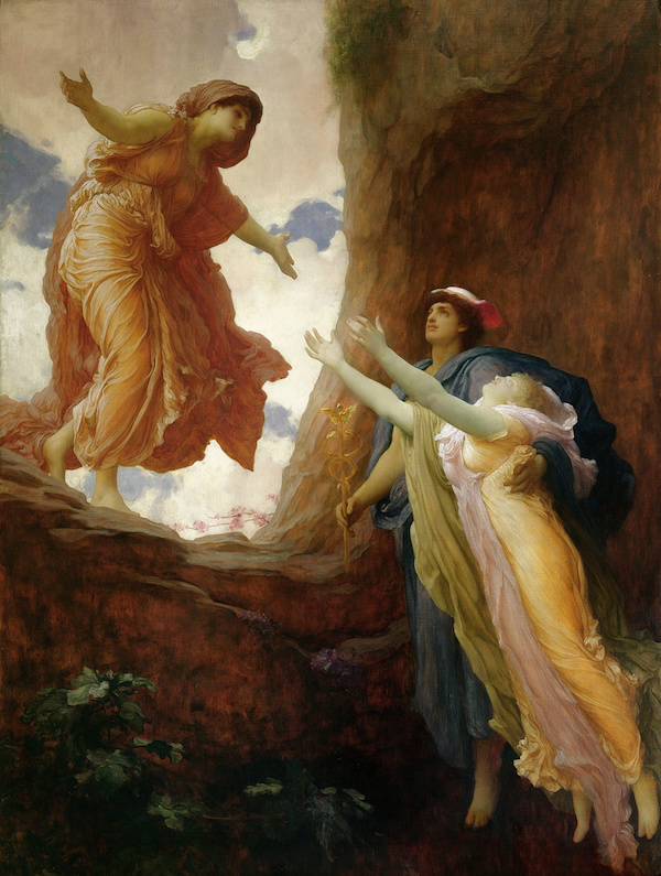 Painting: The Return of Persephone, by Frederic Leighton (1891)