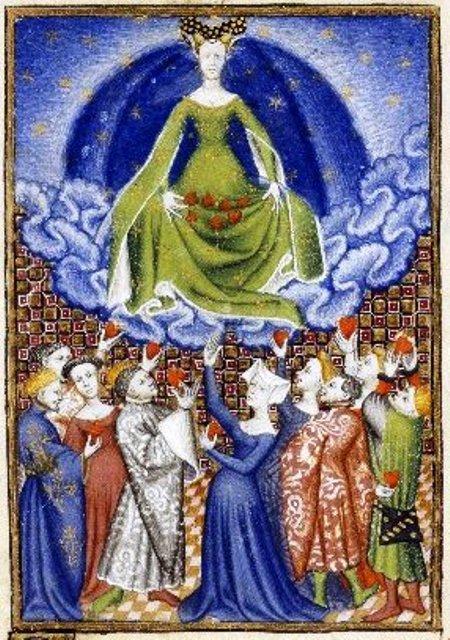 Illustration of Venus and her Devotees