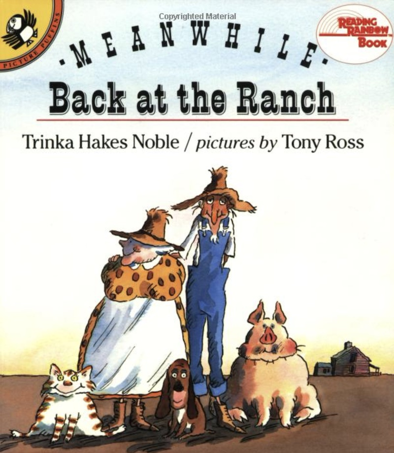 Meanwhile back at the ranch book cover