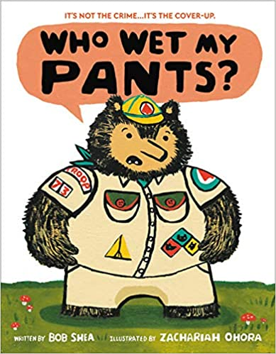Who Wet My Pants Book Cover