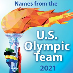 Names from the US Olympic Team 2021