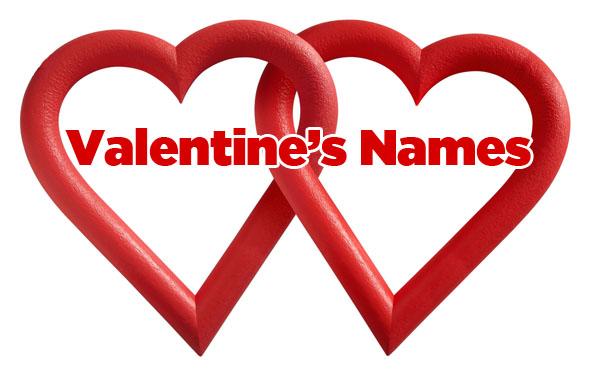top - Valentines Names