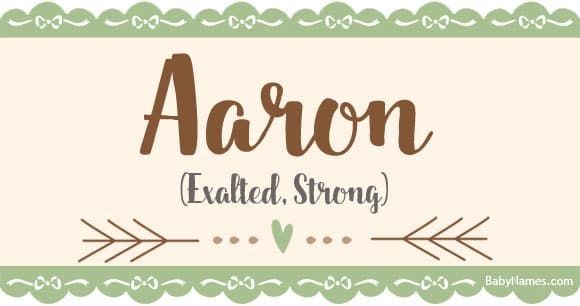 The Name Aaron: Meaning, Origin, and Popularity - Baby Names