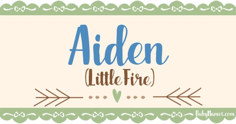The Name Aiden: Meaning, Origin, and Popularity - Baby Names