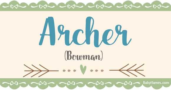 Names For Archers