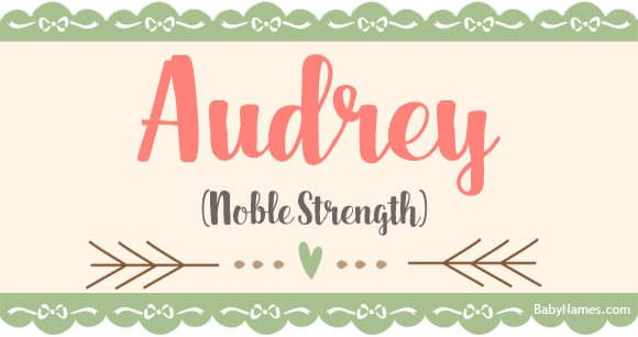 10+ The name audrey means what ideas in 2021