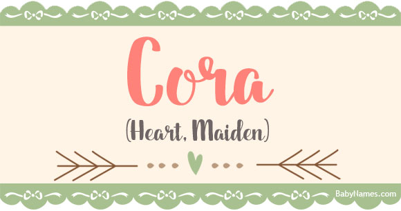 45++ A cora meaning info