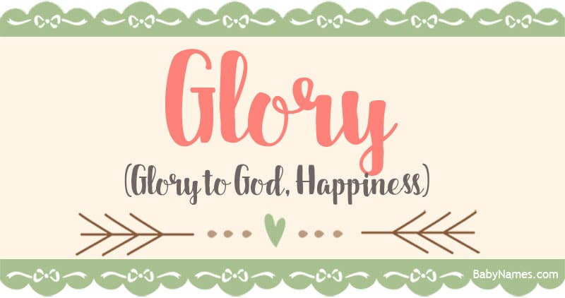 The Name Glory: Meaning, Origin, and Popularity - Baby Names