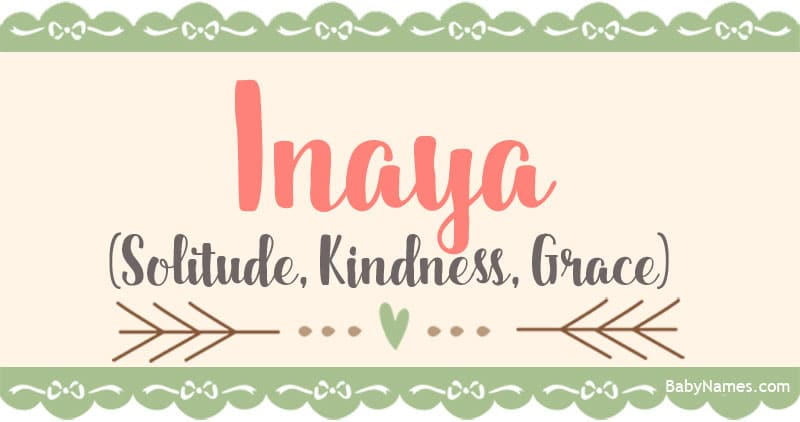 The Name Inaya: Meaning, Origin, and Popularity - Baby Names