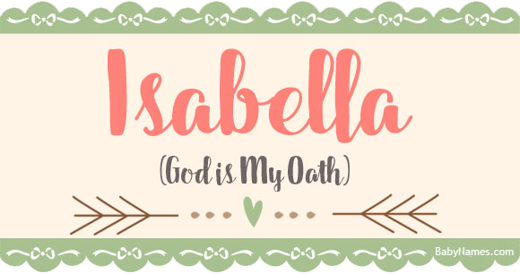 What Does Isabella Mean In The Bible