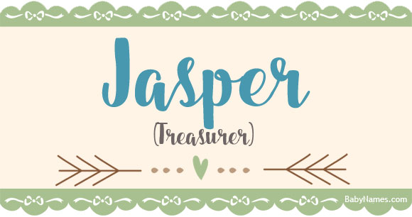 Jasper: Name Meaning, Popularity, and other info about Jasper