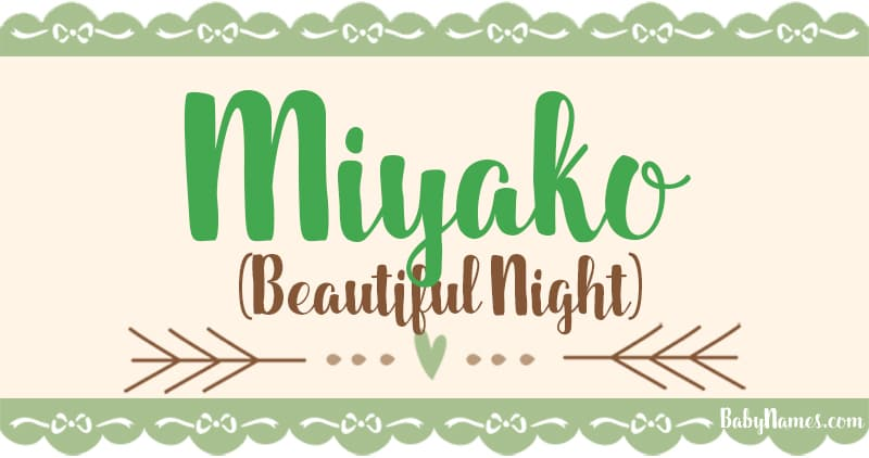 The Name Miyako: Meaning, Origin, and Popularity - Baby Names