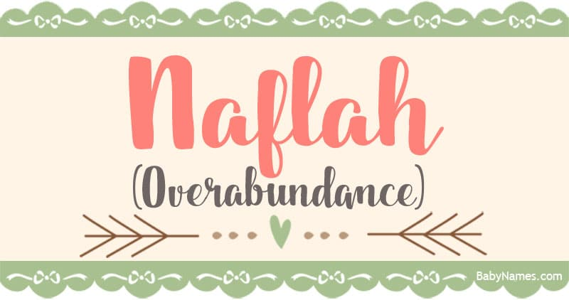 The Name Naflah: Meaning, Origin, and Popularity - Baby Names