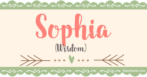 Sophia: Name Meaning, Popularity, and other info about Sophia