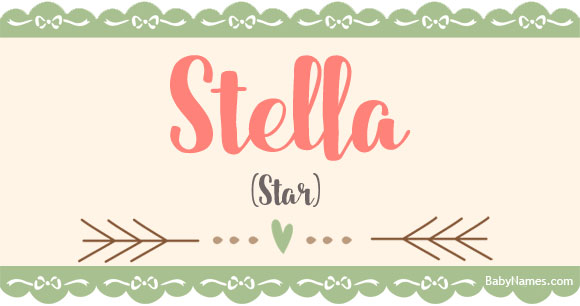 27+ Stella meaning of baby name information