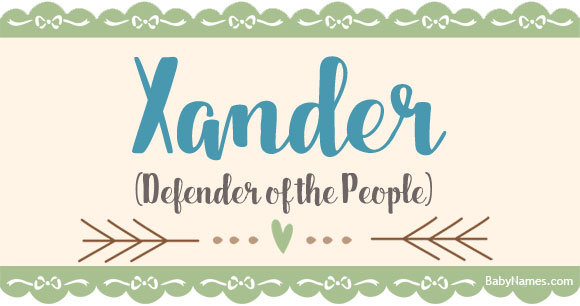 All about the name Xander - Baby Names